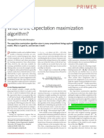 What is the Expectation Maximization Algorithm?