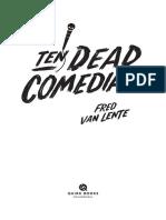 Ten Dead Comedians Excerpt