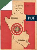 Unión Nacional Odriísta. Ideario 1962-1968.
