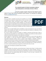 IV Cimsc Un Modelo de Equidad y Compartir Basado en Dinero Comunitario
