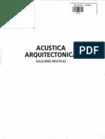 Acustica Arquitectonica ( Manuel Recuero )