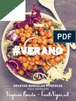 VERANO-recetas Veganas Frescas