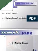 Zomax Presentation