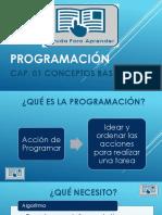 01 Programacion - Capitulo 01 Conceptos Basicos