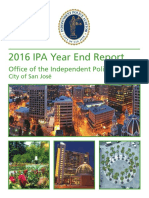 SJPD auditor report