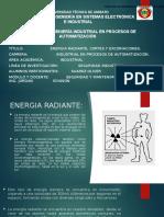 Energia Radiante, Cortes y Excoriaciones