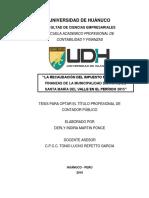"""""""LA RECAUDACIÓN DEL IMPUESTO PREDIAL Y LAS.pdf"""