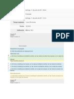 Examen Parcial Semana 4 Formulacion y Evaluacion de Proyectos