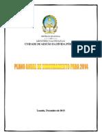 Plano Anual de Financiamento
