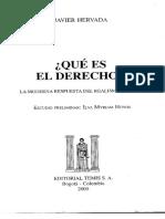 Javier Hervada - ¿Qué es el Derecho.pdf