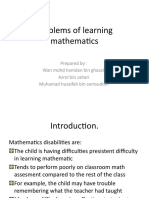 Problems of Learning Mathematics