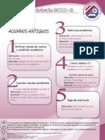 Proceso Matricula 2010-2 Alumnos Antiguos
