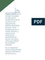 El Organismo Supervisor de las Contrataciones del Estado.docx