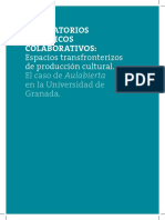 Collados Alcaide, Antonio - Laboratorios Artisticos Colaborativos Espacios Transfronterizos - t Doctoral