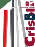 Catálogo Profesional de Mobiliario para Hostelería. Grupo CRISOL