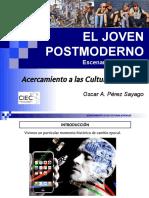 Joven Postmoderno. Escenarios Pastorales Ciec