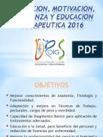FORMACION TERAPEUTICA 2016