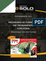 Apresentação - Metodologia Academia Solo