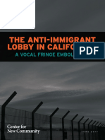 The Anti-Immigrant Lobby in California