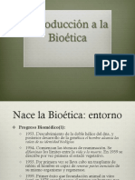 Introduccion a La Bioetica