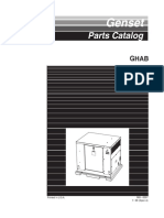 965-0207 Onan GHAB (Spec a) Genset Parts Manual (07-1999)