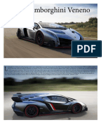 2013 Lamborghini Veneno Brochure