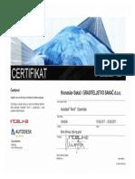 CERTIFIKAT • Autodesk® Revit® Essentials