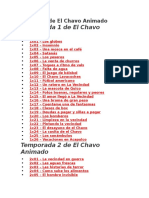 Capítulos de El Chavo Animado