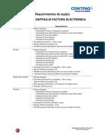 Requerimientos de Equipo CONTPAQ i Factura Electronica