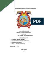 Informe Hotel Libertador Para Imprimir