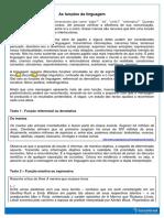 Funções Da Linguagem Teoria PDF