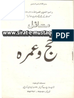 Masail - Hajj o Umrah