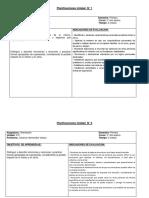 5° Planificación Unidades orientación jovy