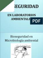 BIOSEGURIDAD en Lab.  Ambientales