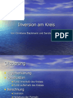 Inversion Am Kreis