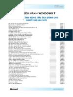 WINDOWS7 Guidebook End Users