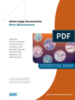 Vishy-Strain Gauge Accessories