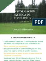 Transformación pacífica de conflictos