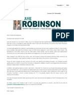 Councillor Jaye Robinson's Summer 2017 eNewsletter