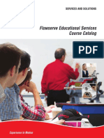 Flowserve Educational Services Course Catalog