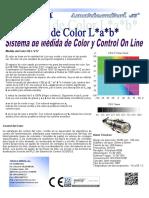 Medida de COLOR-BLANCURA Smartcontrol