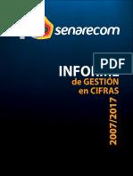INFORME DE GESTION EN CIFRAS 2007/2017
