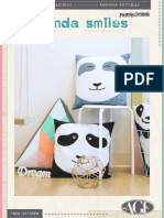 Panda Smiles Pillows