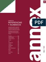 Anexo Catálogo Profesional de Mobiliario. Grupo CRISOL