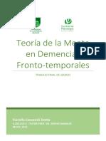 Teoria de La Mente en Demencias Frontotemporales - Final