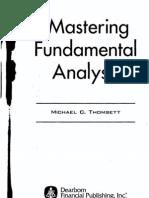 Mastering Fundamental Analysis