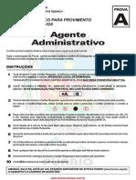 Agente Administrativo Prova Nova Iguaçu