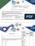 Guía Para El Uso de Recursos Educativos - Laboratorio Regresión y Correlación Lineal