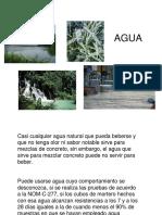 Dosificación de agua en el concreto