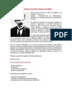 Biografia de Jose Maria Eguren